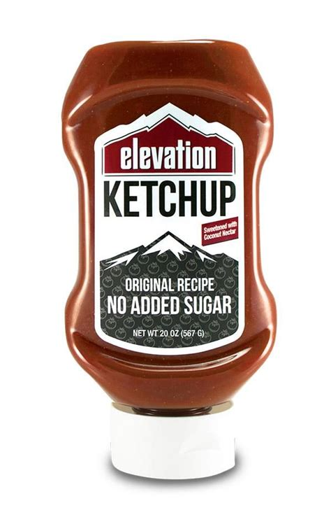 No Sugar Added Ketchup - Sweetened with Coconut Nectar ...