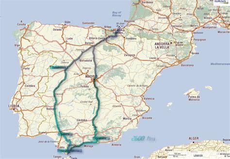 Carte Autoroute Espagne Portugal by Plan Autoroute Espagne Mes Prochains Voyages