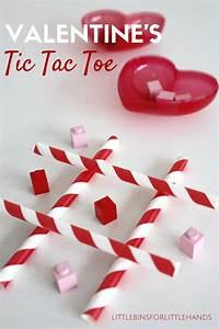 Valentines Tic Tac Toe DIY Game for Kids  Valentines
