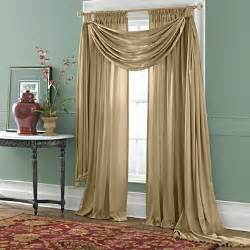 appealing swag curtains for living room design jabot