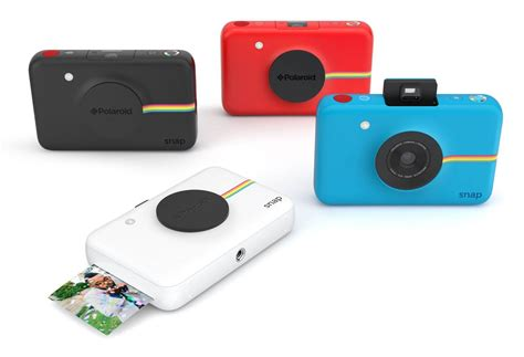 with instant photo polaroid s snap puts instant printing in minimal