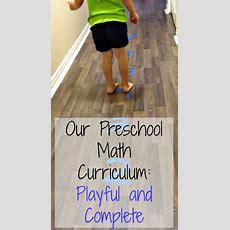 Preschool Math Activities Our Playful Math Curriculum  How Wee Learn