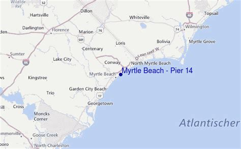 myrtle beach pier  surf forecast  surf reports carolina south usa