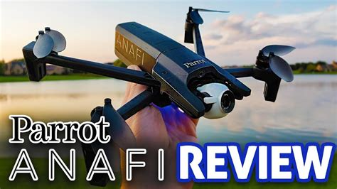 parrot anafi  hdr drone hands  review youtube