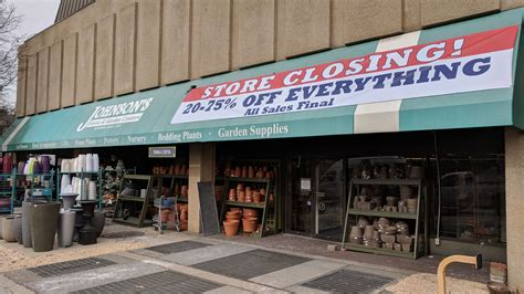 johnsons garden center johnson s blames rent for closing of tenleytown garden