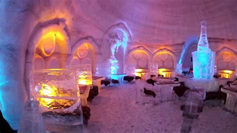 exploring  ice hotel montreal youtube