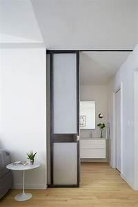 Porte De Salle De Bain : la porte coulissante salle de bain nous fait d couvrir ses ~ Dailycaller-alerts.com Idées de Décoration