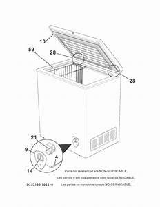 Kenmore 253 18502210 Wire Deep Freezer Basket  White