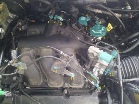 ford escape  vacuum hose diagram car updates