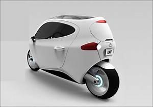 Roller Mit Dach : this is a smart world la c 1 v hicule du futur ~ Frokenaadalensverden.com Haus und Dekorationen