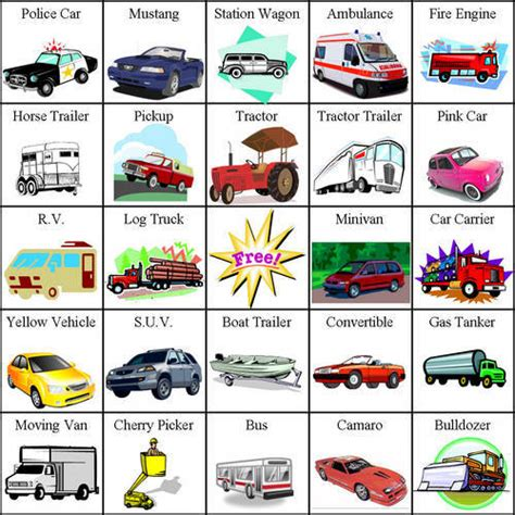 8 Best Images Of License Plates Car Bingo Cards Printable
