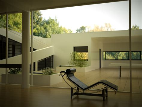Villa Savoye Innen by Otoy Forums View Topic Villa Savoye And More