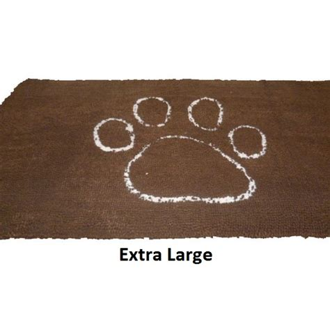 Pet Doormats by Large Absorbent Pet Doormat Brown Buy