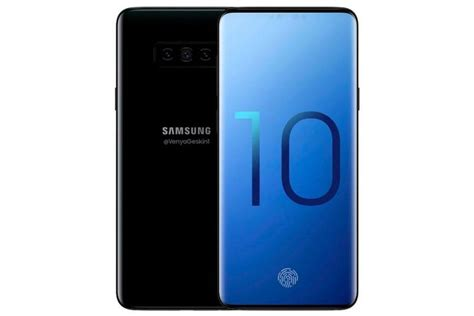 New Leak Shows The Final Screen Design Of Galaxy S10