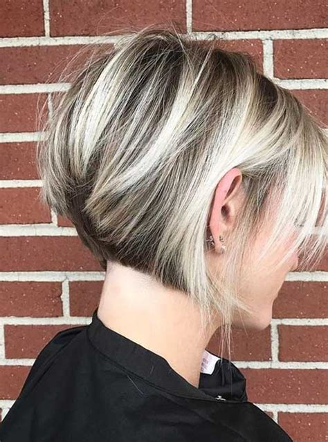 chic  eye catching bob hairstyles short hairstyles