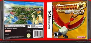 Pokemon Heart Gold Version Nintendo Ds Box Art Cover By