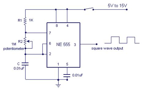 Variable Frequency Oscillator Circuit With Schematic