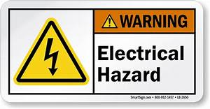 Electrical Hazard Labels | Hazard Warning Labels