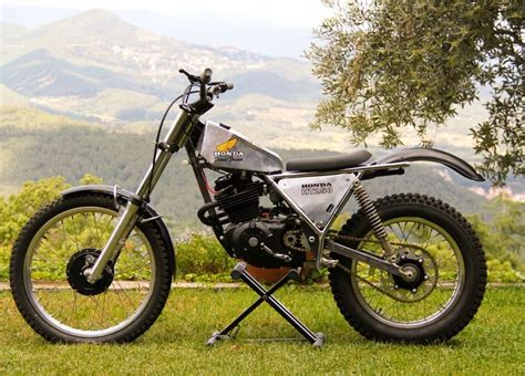 1000+ Images About Honda Trials Bikes On Pinterest