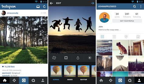 With Instagram - instagram getting big update brings sleeker ui and