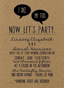 best 25 funny wedding invitations ideas on pinterest With wedding evening invitations funny