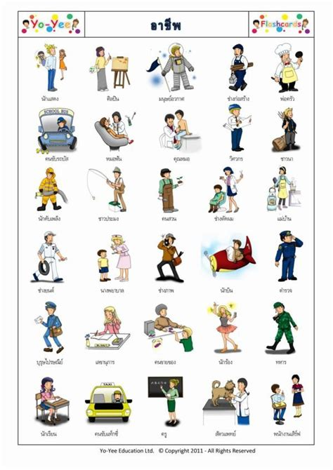 Chinese Gardener by Occupations And Jobs Flashcards For Children
