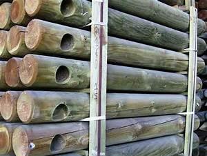 Piquet En Bois Pour Cloture : poteau bois cloture pas cher ~ Farleysfitness.com Idées de Décoration
