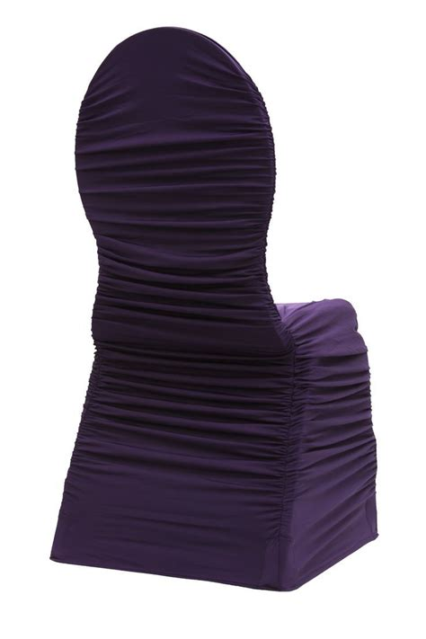 aliexpress buy plum ruffled spandex chair cover