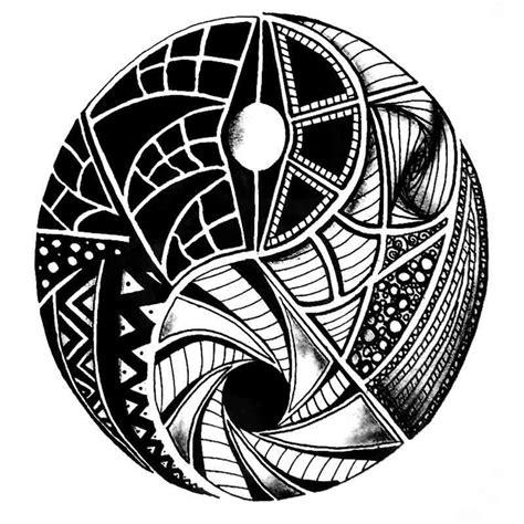arbre de vie mandala ying  tatouage tatouage