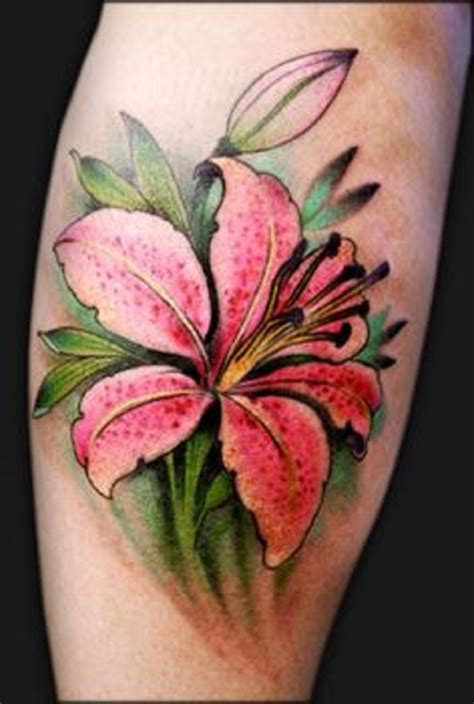 60 Beautiful Lily Tattoo Ideas  Nenuno Creative