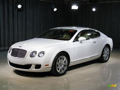 2009 Glacier White Bentley Continental Gt #18238177
