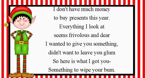 christmas toilet paper gag gift  images christmas