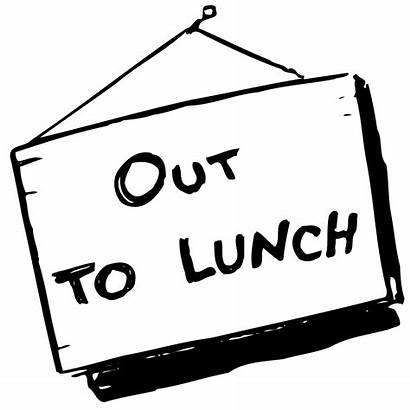 Lunch Sign Clipart Advertisement Cool