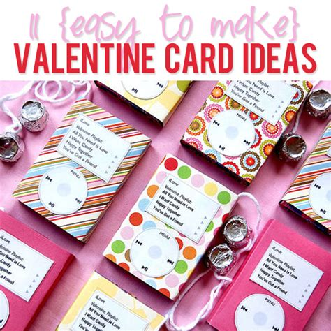 11 Valentines Card Ideas