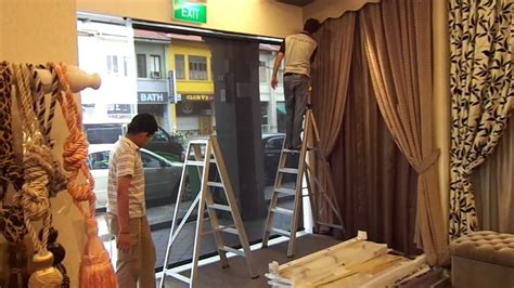 the curtain shop all about curtains and window blinds in singapore