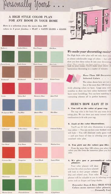 39 best colour schemes 1940s 50s color palettes color schemes and color