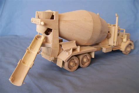 kenworth cement mixer truck  miniature  lumberjocks