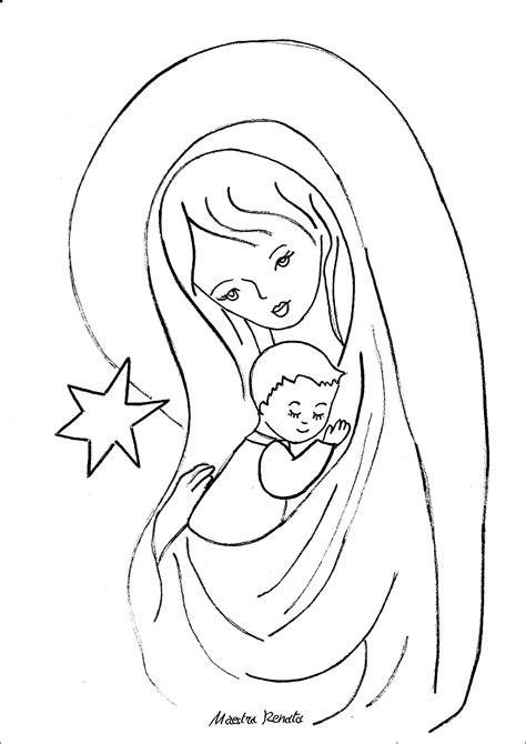 disegni madonna con bambino da colorare nuovo disegni di religione da colorare migliori