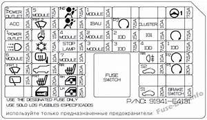 Fuse Box Diagram  U0026gt  Kia Soul Ev  2015