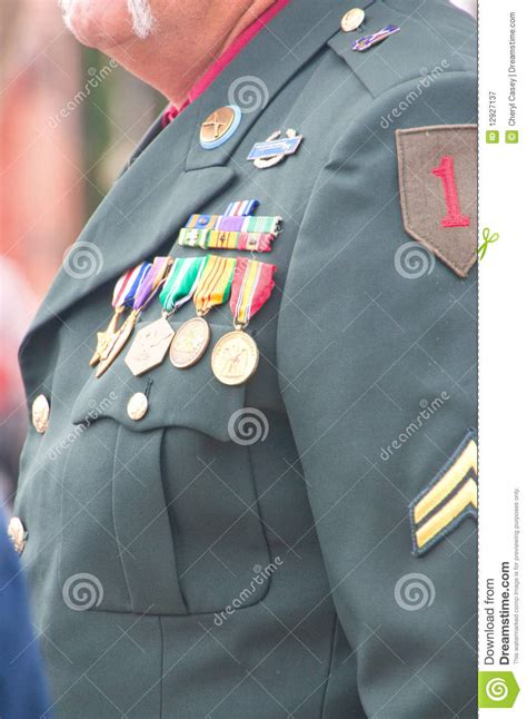vietnam veterans uniform royalty  stock photography