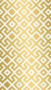 Gold geometric trellis iphone wallpaper phone background ...