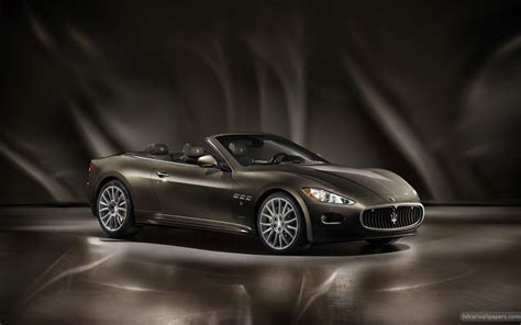 Maserati Grancabrio Backgrounds by 2012 Maserati Grancabrio Fendi Wallpaper Hd Car
