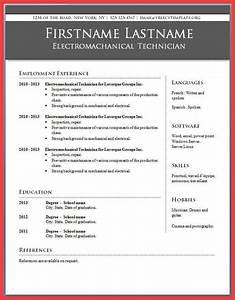 resume microsoft word 2010