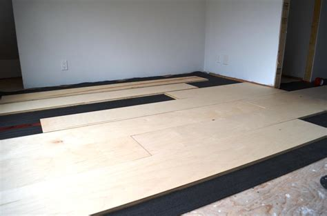The Bennett House Diy Plywood Floors