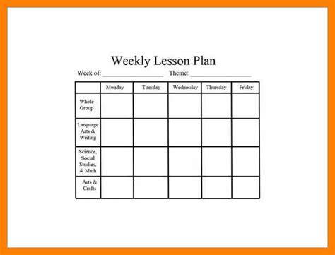 editable lesson plan 7 editable weekly lesson plan template gcsemaths revision