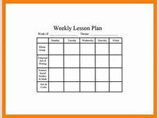 7+ editable weekly lesson plan template gcsemaths revision