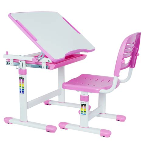desk and chair vivo height adjustable childrens desk chair kids