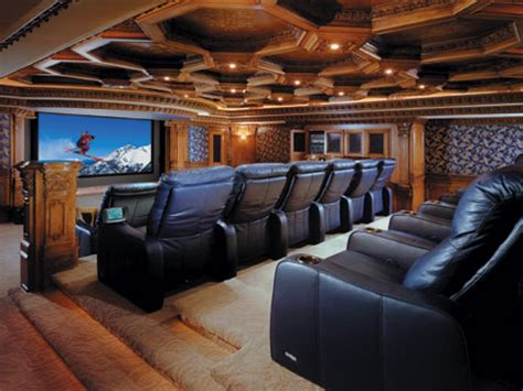 Home Theater Interiors, Home Theater Rooms Diy Home Movie