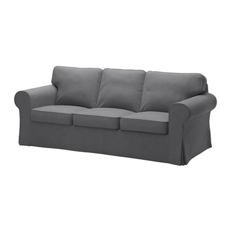 crozatier canapé convertible ektorp sofa nordvalla gray ikea