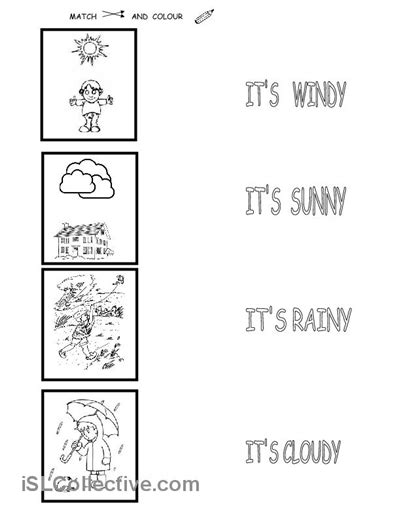 weather  images weather worksheets